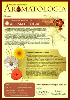 Abertas inscrições para curso Introdução a Aromatologia - em Cuiabá